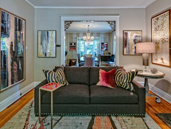 An eclectic look for a 1908 home in Denver's Wash Park neighborhood