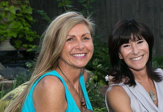 Marina Dagenais and Lovedy Barbatelli, two Denver interior designers