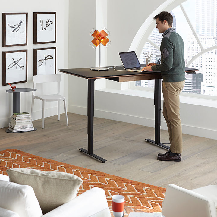adjustable standing desk by BDi