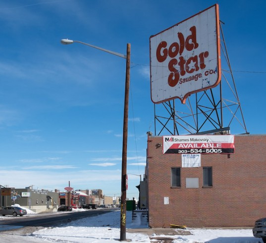 Gold Star Sausage Building in Denver's RiNo, photo by Paul Sableman