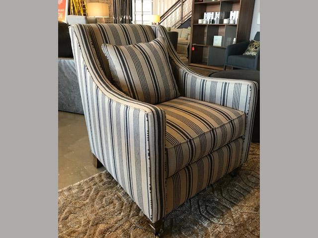 Bella Chair 28W 34.5D 36H Retail $2,445 Sale $1,467
