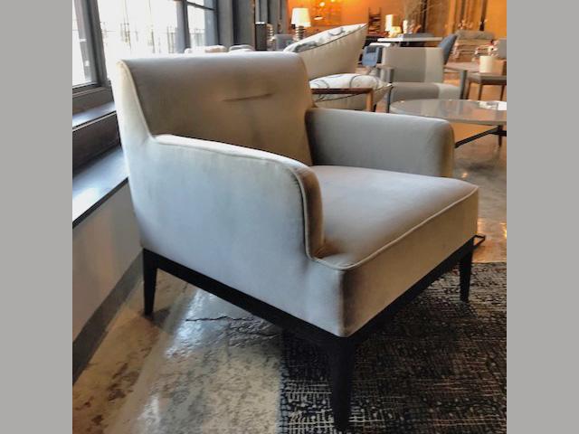 Earl Armchair 29.5W 31.5D 31.5H Retail $2,660 Sale $1,596