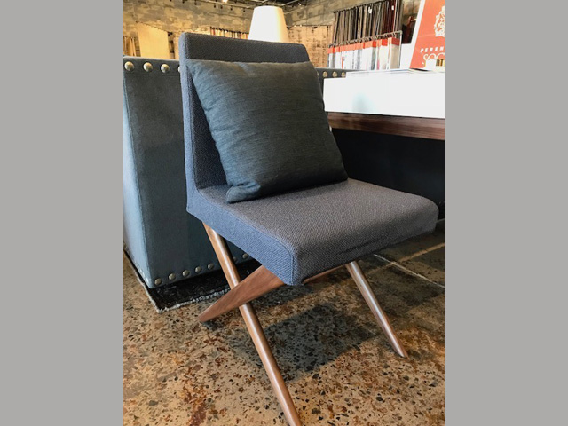 Odeon Dining Side Chair 17.75W 22.5D 34H Retail $1,120 Sale $896