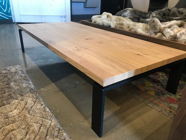 Oslo Cocktail Table 54W 24D 10.5H Retail $777 Sale $450