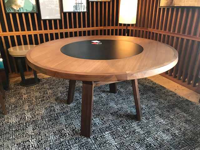 Round Sui Dining Table 55.1D 29.1H Retail $5,670 Sale $4,000