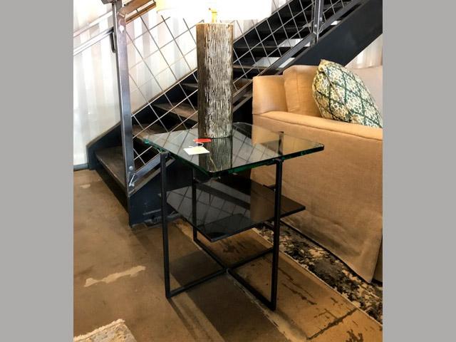 Barnes Side Table 24.5W 24.5D 24H Retail $1,800 Sale $990