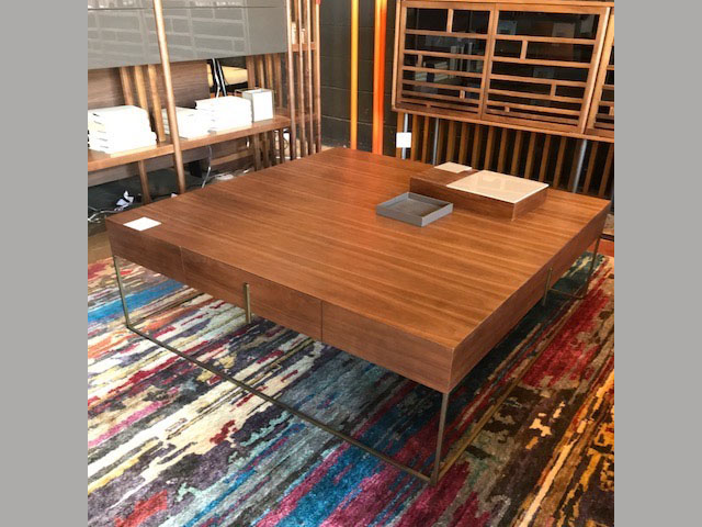 Fond Coffee Table 47.2W 47.2D 15.7H Retail $3,677 Sales $2,206