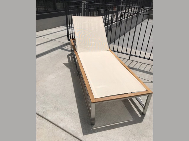 Ibiza Chaise 27W 80L 14SH Retail $1,345 Sale $807