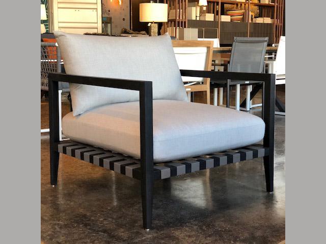 Pier Teak Armchair 33W 33D 25H Retail $1,540 Sale $1,000