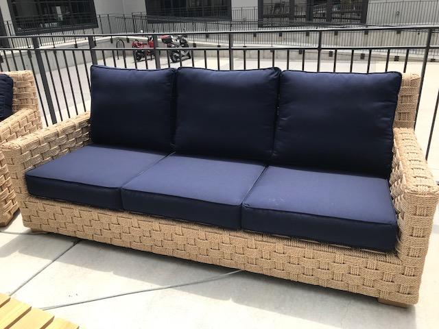 St Barts Sofa 84.5L 38D 33.5H Retail $2,225 Sale $1,335