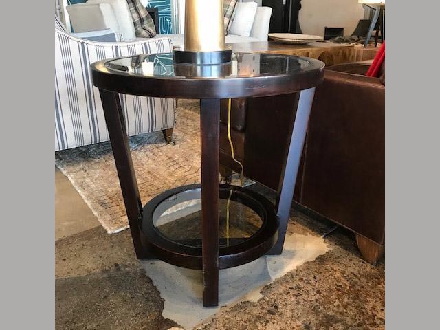 Zola Round End Table 24 Dia 24H Retail $822 Sale $493