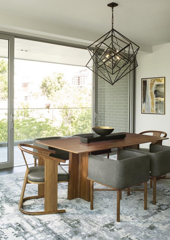 Design Wright bright dining room