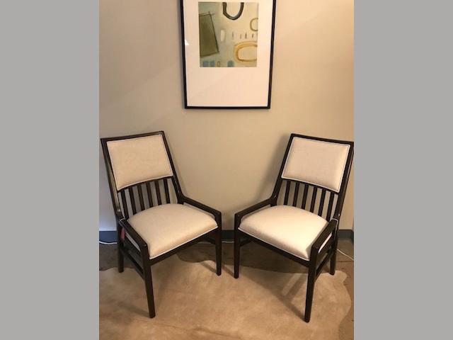 Santa Clara Dining chairs 29.5W 31.5D 31.5H Retail $475 Sale $300 (each)