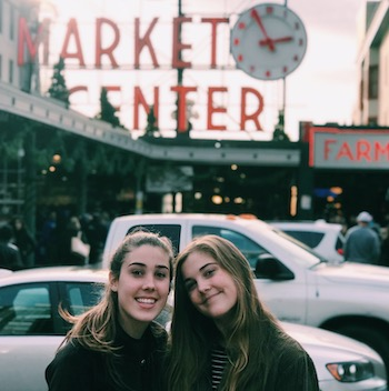 Annie and Cat in Seattle